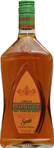 Hornitos Anejo Tequila Perspective: front