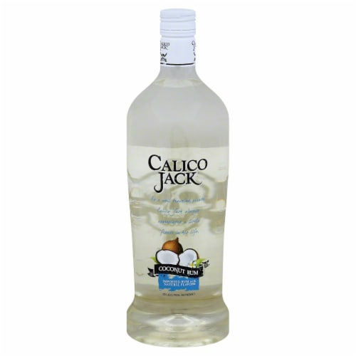 Calico Jack Coconut Rum Perspective: front