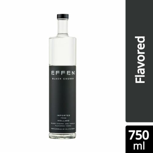Effen Black Cherry Vodka Perspective: front