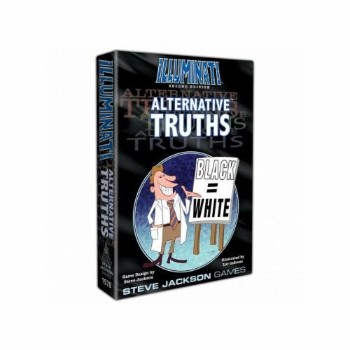 Steve Jackson Games SJG1578 Illuminati - Alternative Truths Board Game Perspective: front