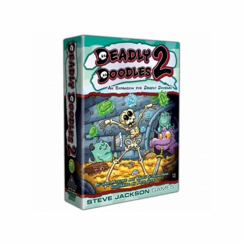 Steve Jackson Games SJG1399 Deadly Doodles 2 Board Game Perspective: front