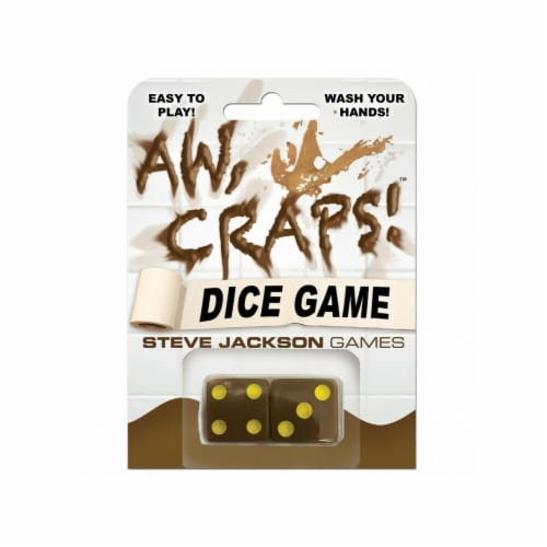 Steve Jackson Games SJG131346 Aw Craps Classic Street Game Perspective: front