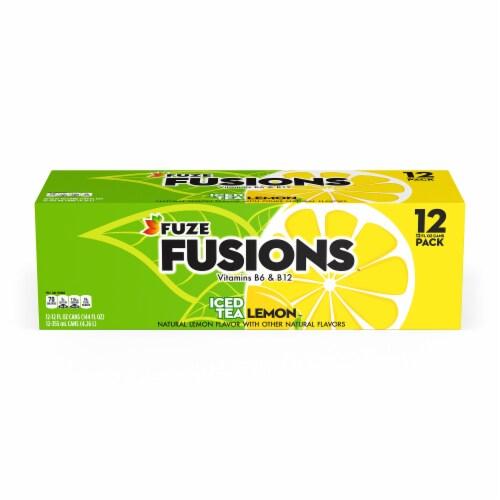 Food 4 Less - Fuze Lemon Iced Tea, 12