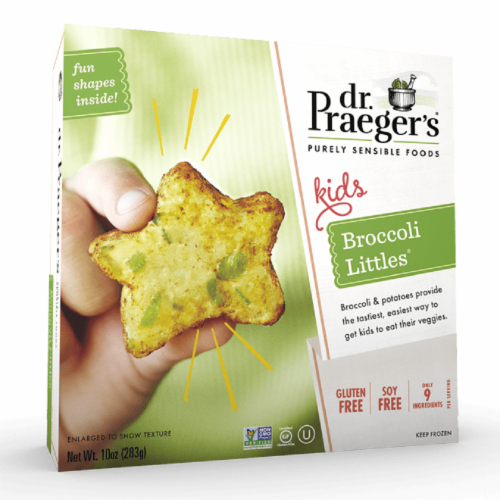 Dr. Praeger's Gluten Free Broccoli Little's Perspective: front