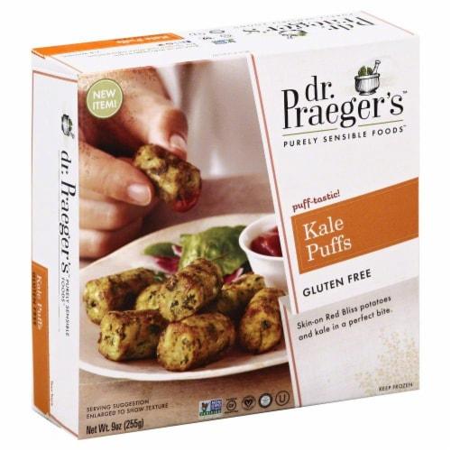 Dr. Praegers Frozen Kale Veggie Puffs Perspective: front