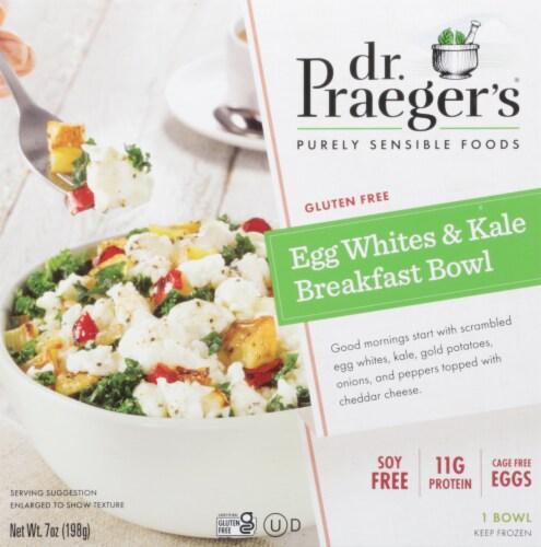 Dr. Praeger's Egg Whites & Kale Breakfast Bowl Perspective: front