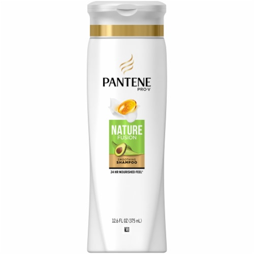 Pantene Nature Fusion Soothing Shampoo Perspective: front