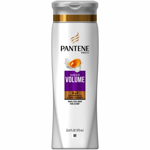 Pantene Pro-V Sheer Volume 2 in 1 Shampoo & Conditioner Perspective: front