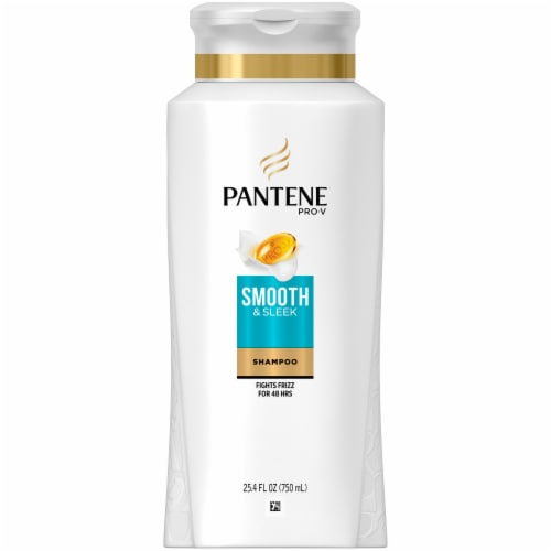Pantene Pro-V Smooth & Sleek Shampoo Perspective: front