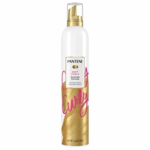 Pantene Pro-V Curl Mousse to Tame Frizz for Soft Touchable Curls Perspective: front