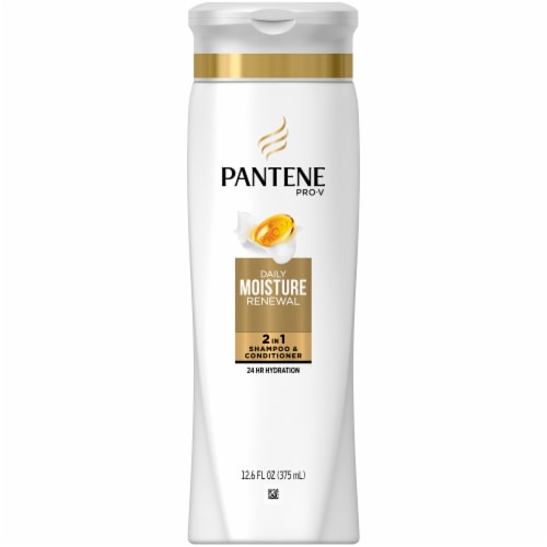 Pantene ProV 2 in 1 Daily Moisture Renewal Shampoo & Conditioner Perspective: front