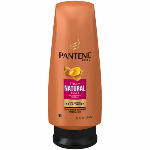 Pantene Pro-V Truly Natural Hair Curl Defining Conditioner Perspective: front