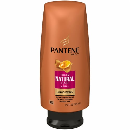 Pantene Pro-V Truly Natural Hair Co-Wash Cleansing Conditioner Perspective: front
