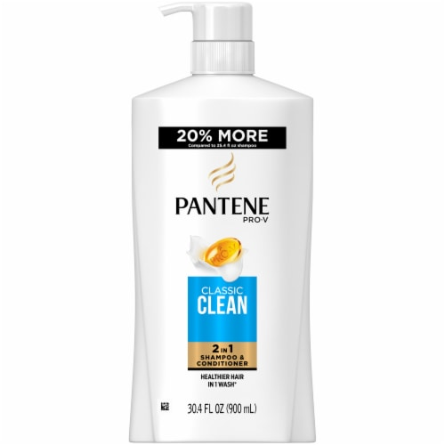 Pantene Pro-V Classic Clean 2In1 Shampoo & Conditioner Perspective: front