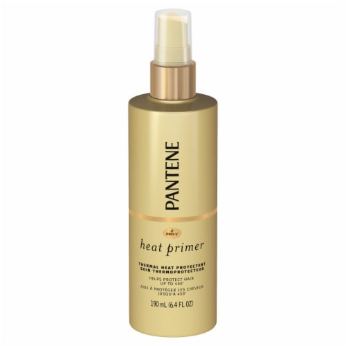 Pantene Pro-V Nutrient Boost Thermal Heat Protection Pre-Styling Heat Primer Spray Perspective: front