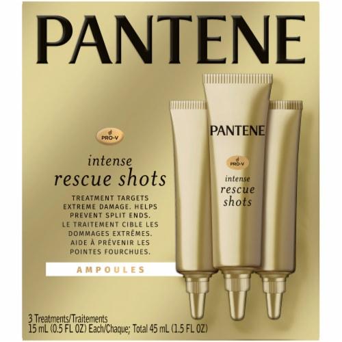 Pantene Pro-V Intense Rescue Shots Hair Ampoules Treatments Perspective: front