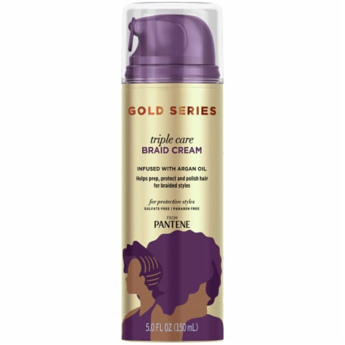 Pantene Gold Series Triple Care Braid Cream Perspective: front