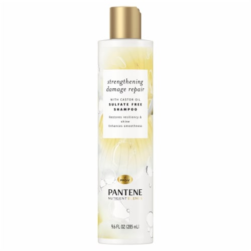 Pantene Nutrient Blends Fortifying Damage Repair Shampoo Sulfate Free Perspective: front