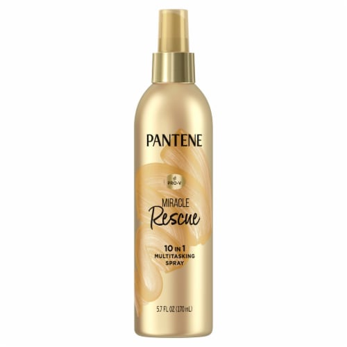 Pantene PRO-V Miracle Rescue 10 in 1 Multitasking Spray Perspective: front