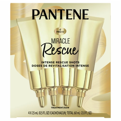 Pantene Pro-V Miracle Rescue Intense Rescue Shots Perspective: front