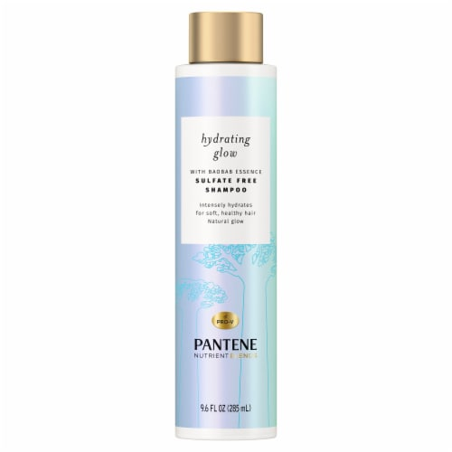 Pantene Nutrient Blends Hydrating Glow Sulfate Free Shampoo Perspective: front