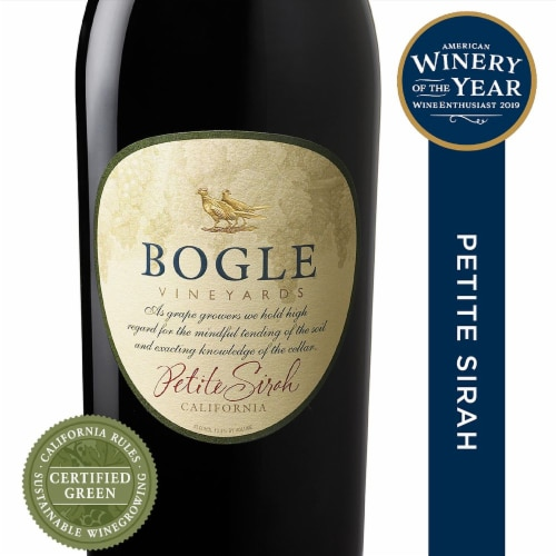 Bogle Vineyards Petite Sirah Perspective: front