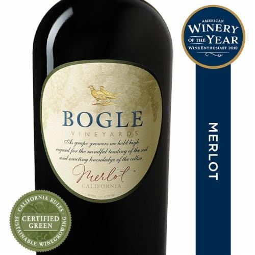 Bogle Vineyards Merlot Red Wine Perspective: front