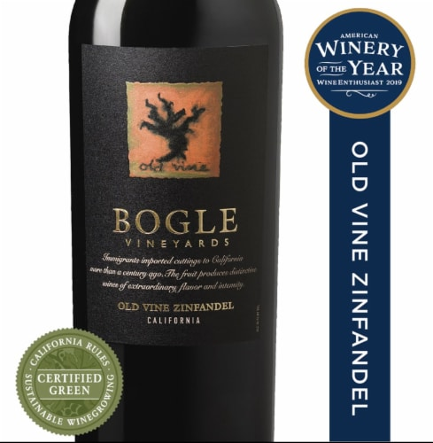 Bogle Vineyards Zinfandel Perspective: front