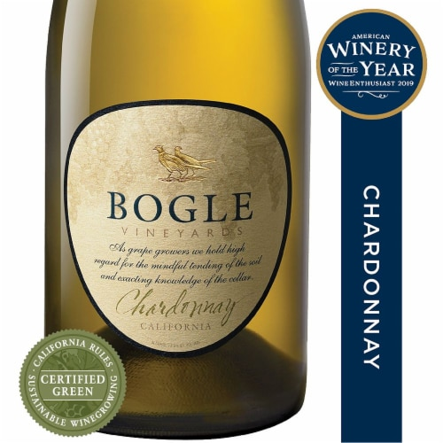 Bogle Vineyards Chardonnay White Wine Perspective: front