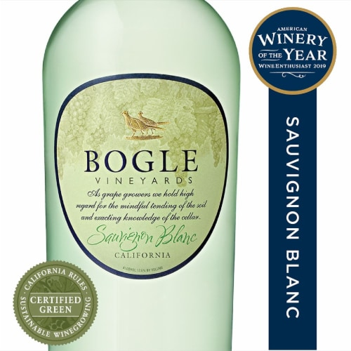 Bogle Vineyards Sauvignon Blanc Perspective: front