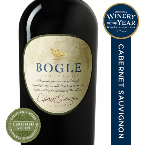 Bogle Vineyards Cabernet Sauvignon Perspective: front