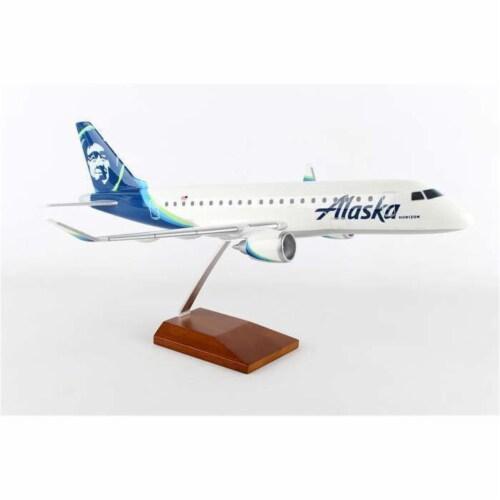 Executive Series Display Models G60510E Executive Alaska Airlines ERJ175 Model Airplane Perspective: front