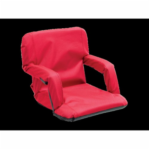 Rio 10123-409-1 Go Anywear Chair Textured, Red Perspective: front
