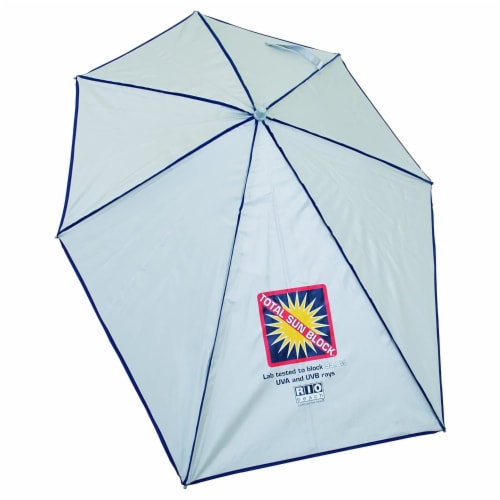 Rio Beach Total Sun Block Clamp On Adjustable Umbrella for Beach & Lounge Chairs Perspective: front
