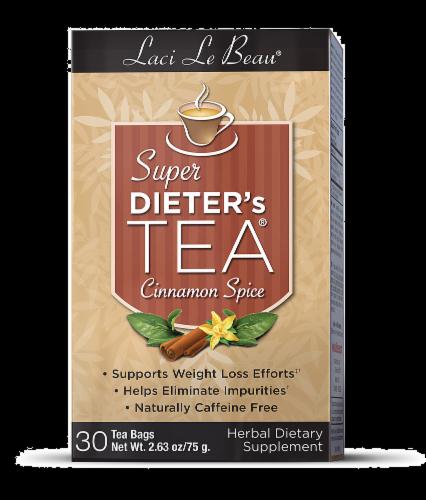 Laci La Beau Cinnamon Spice Super Dieter's Tea Perspective: front