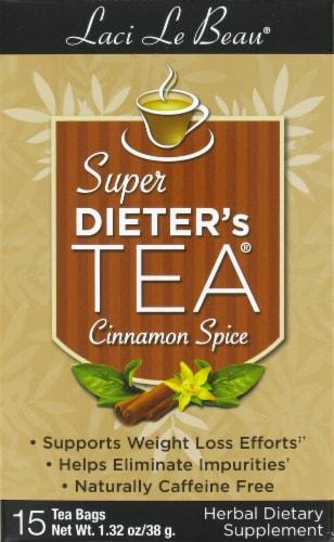 Laci Le Beau Super Dieter's Cinnamon Spice Tea Perspective: front