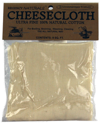 Regency Naturals Ultra-Fine Cheesecloth - Natural Perspective: front