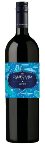 The California Winery Merlot Perspective: front