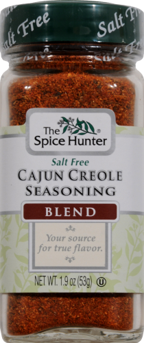 The Spice Hunter Cajun Creole Seasoning Perspective: front