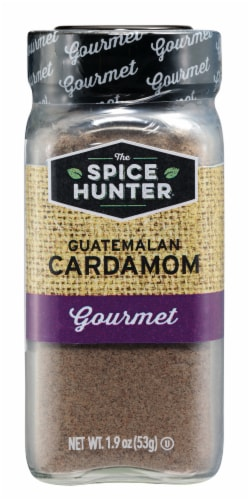 The Spice Hunter Gourmet Guatemalan Cardamom Perspective: front