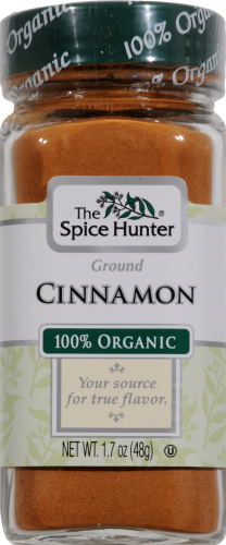 The Spice Hunter Organic Cinnamon Perspective: front