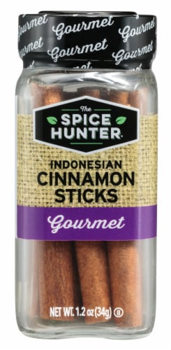 The Spice Hunter Gourmet Indonesian Cinnamon Sticks Perspective: front