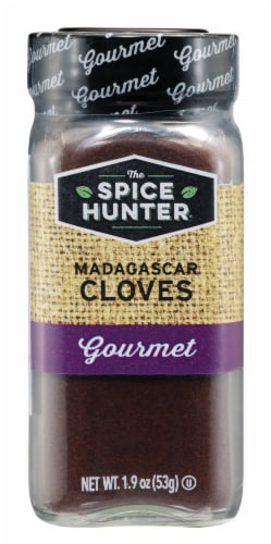 The Spice Hunter Gourmet Ground Madagascar Cloves Perspective: front
