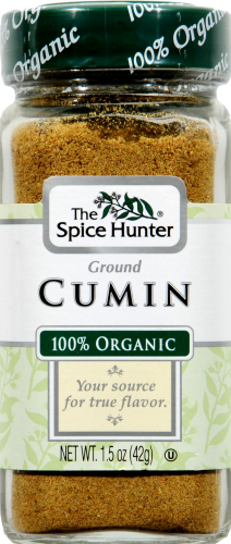 The Spice Hunter Organic Ground Cumin Perspective: front