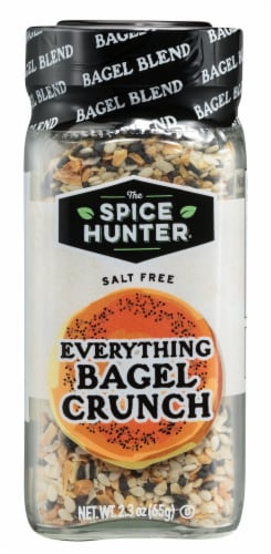 The Spice Hunter Everything Bagel Crunch Seasoning Perspective: front