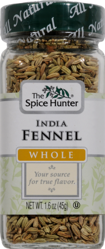 The Spice Hunter Whole India Fennel Perspective: front