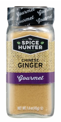 The Spice Hunter Gourmet Ground Chinese Ginger Perspective: front