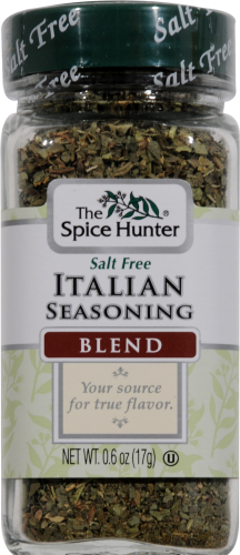 The Spice Hunter Italian Seasoning Perspective: front