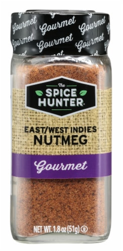 The Spice Hunter Gourmet East/West Indies Nutmeg Perspective: front