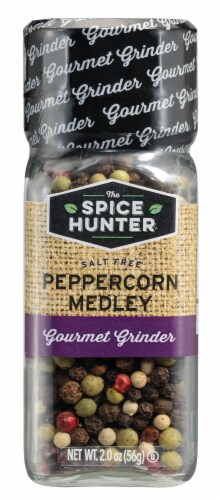 The Spice Hunter Whole Black Tellicherry Peppercorns Perspective: front